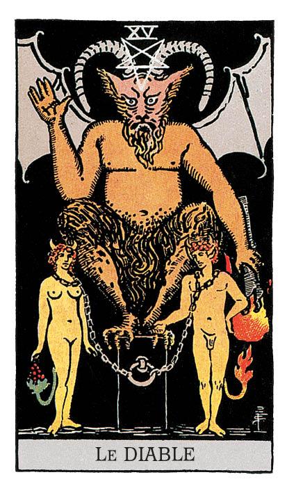 signification du diable dans le tarot