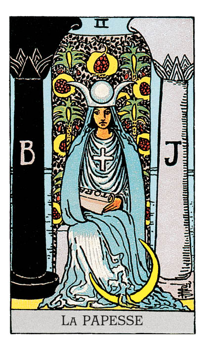 signification papesse tarot