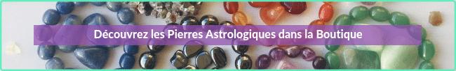 pierres astrologiques