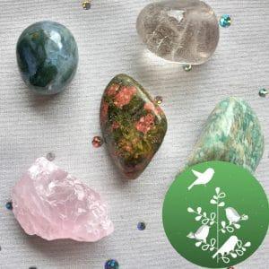 pierres printemps