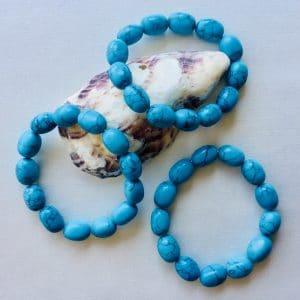 bracelet pierres roulées turquénite