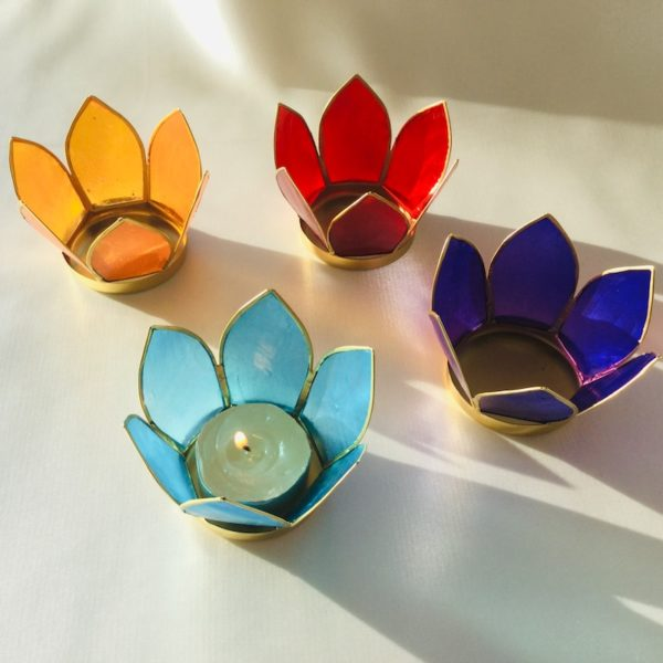 bougeoirs des sept chakra