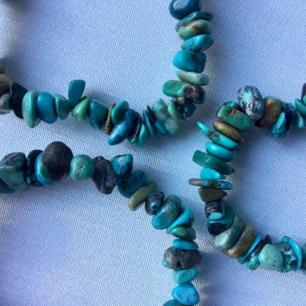 bracelet fin turquoise