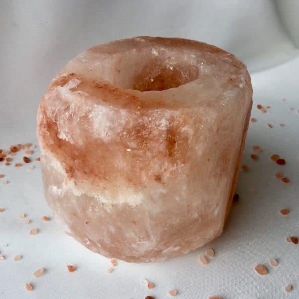 bougeoir en sel de l himalaya