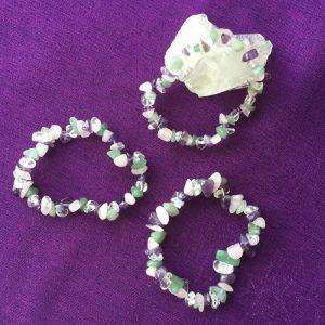 bracelet quartz rose aventurine amethyste cristal de roche