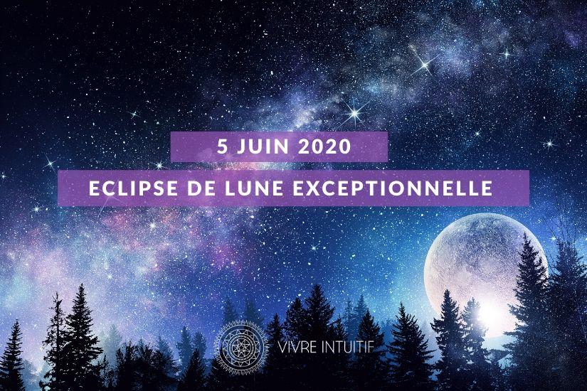 Pleine Lune et Eclipse de Lune en Sagittaire Juin 2020
