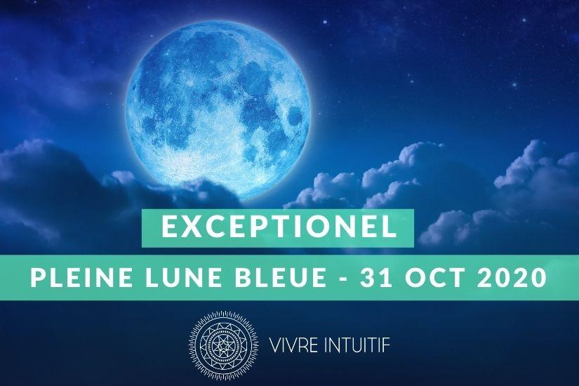 La Pleine Lune Bleue d'Halloween en Taureau - 31 octobre 2020