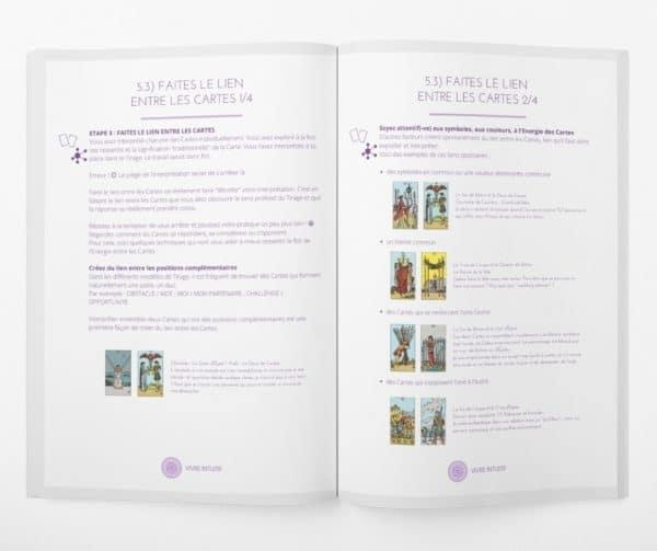 guide apprentissage du tarot - livre imprimé