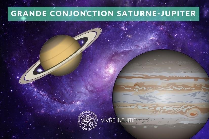 Grande Conjonction Saturne Jupiter le 21 Décembre 2020